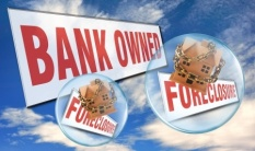 bank owned, foreclosure signs