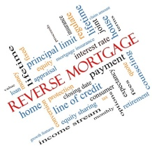 Reverse Mortgage Wordcloud